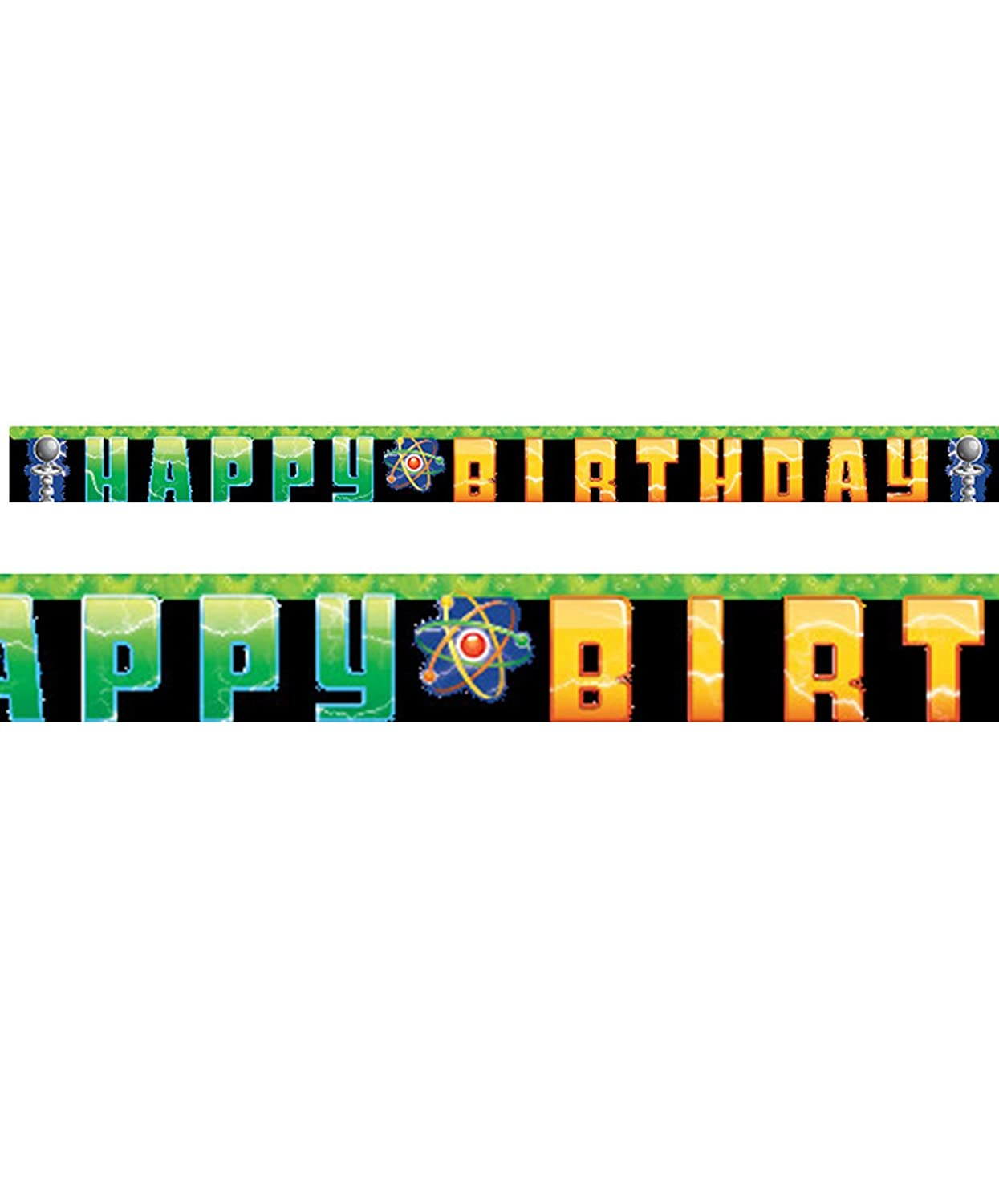 Creative Converting Mad Scientist Letter Banner 2724612328410