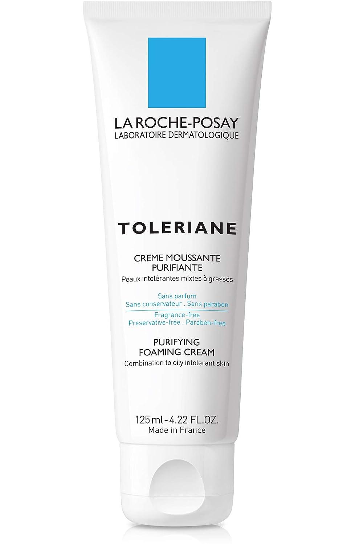 La Roche-Posay Toleriane Purifying Foaming Cream Cleanser, 4.22 Fl. Oz.