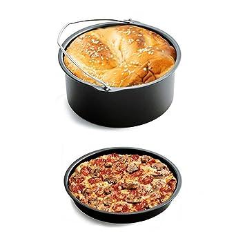 Uniqus Amw Aire sartén Accesorios Cinco Piezas freidora Cesta Pizza Grill Olla Esterillas Cocina Multifuncional Accesorio: Amazon.es: Hogar