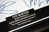 "RARE Original ""Jack Skellington & Sally "" ART Drawn and signed by TIM BURTON ""Nightmare Before Christmas"", COA, Frame, Blu Ray"