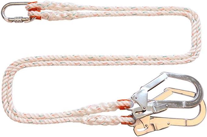 Cinturones de seguridad de apoyo seguridad cuerda doble ...