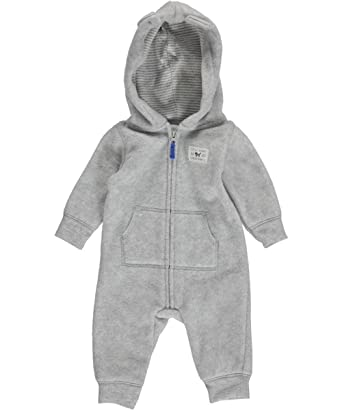 0ea93ae7d Amazon.com  Carter s Baby Boys  Hooded Fleece Jumpsuit (18 Months ...