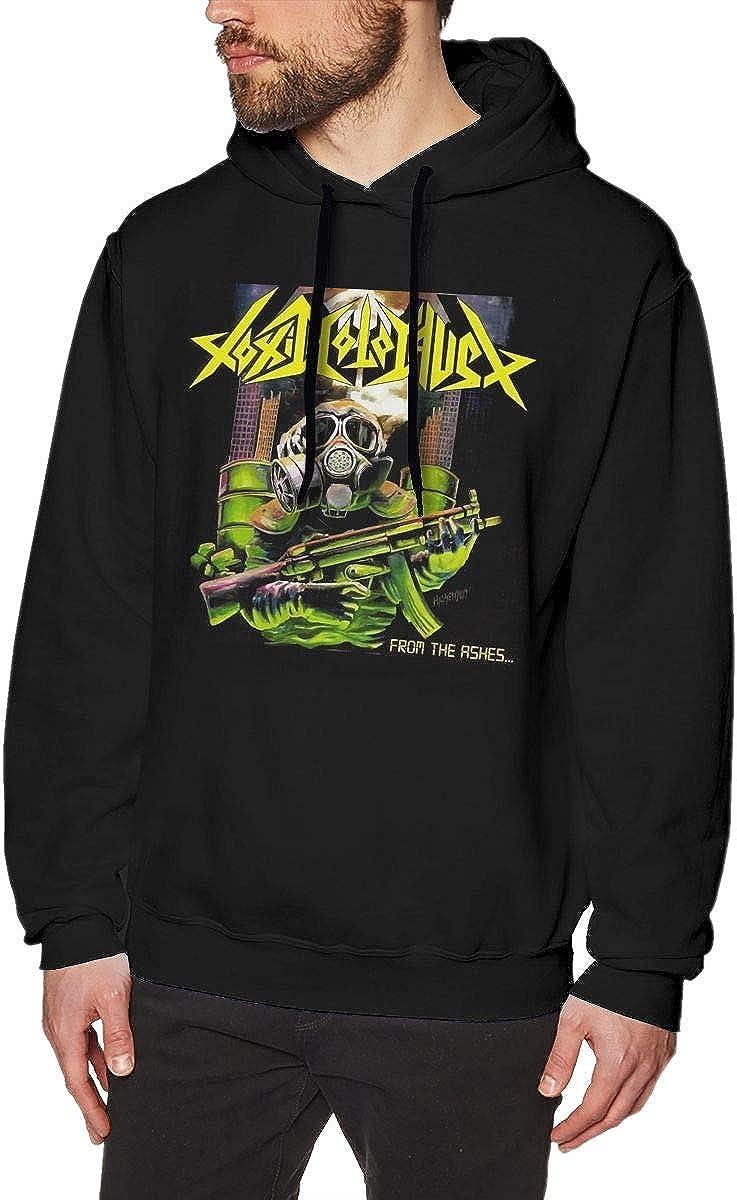 Toxic Holocaust Vintage Mens Long Sleeve Sweatshirts Mans Hoodies Black