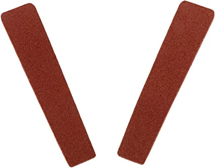 Details about  /2pcs Cow Leather Archery Bow String Silencer Pads Adhesive Bow Strip Hunting