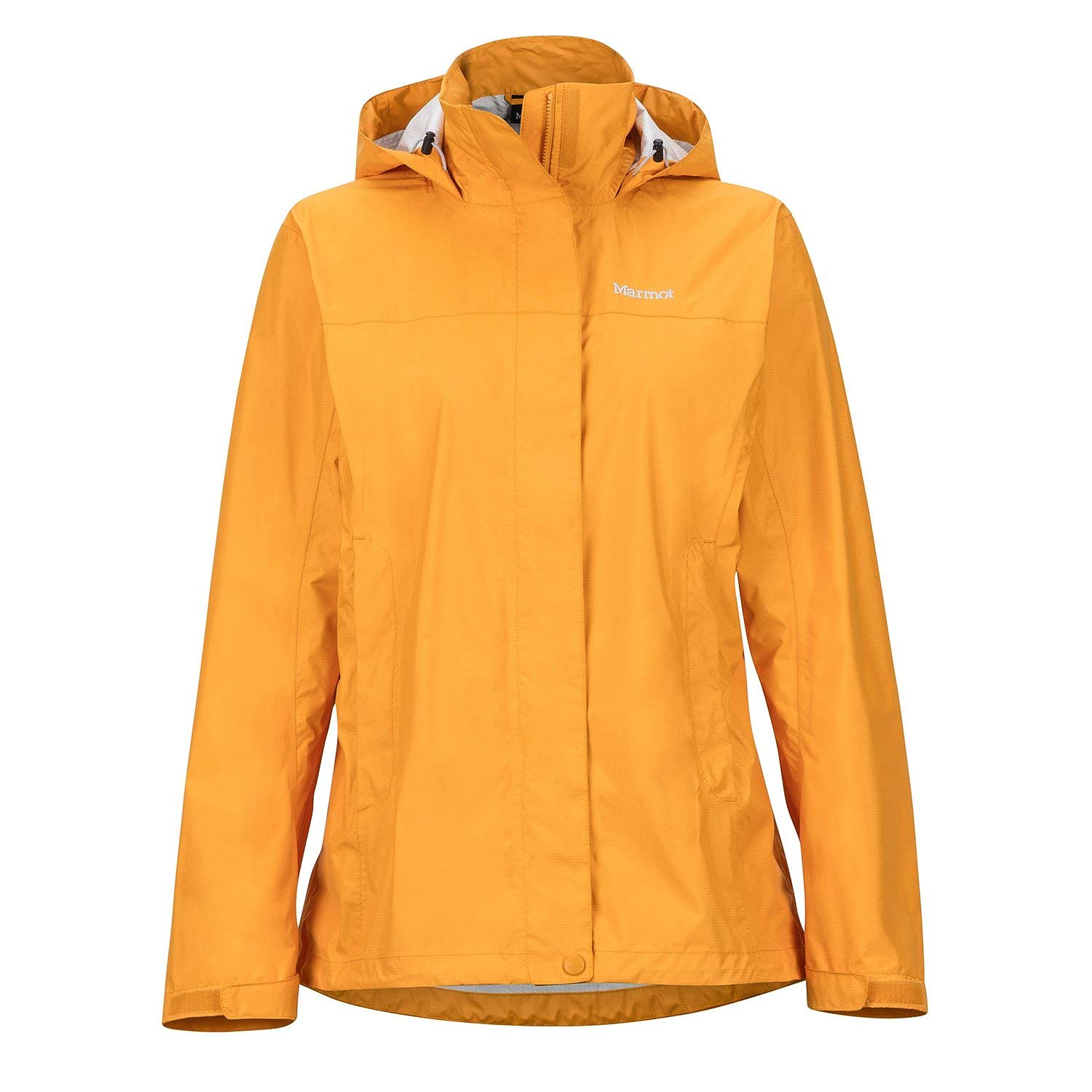 Marmot PreCip NanoPro Waterproof Womens Jacket Medium Golden