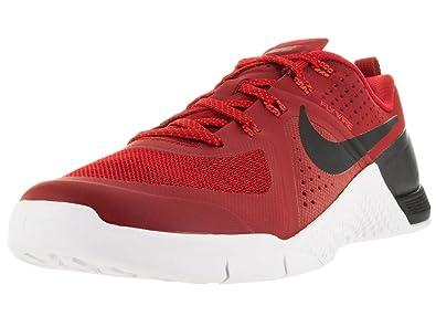 Nike Men's Metcon 1 Gym Red/Blk/Brght Crmsn/White Training Shoe 8 Men US