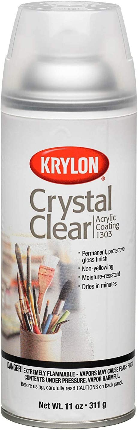 Krylon Crystal Clear Acrylic Spray Paint