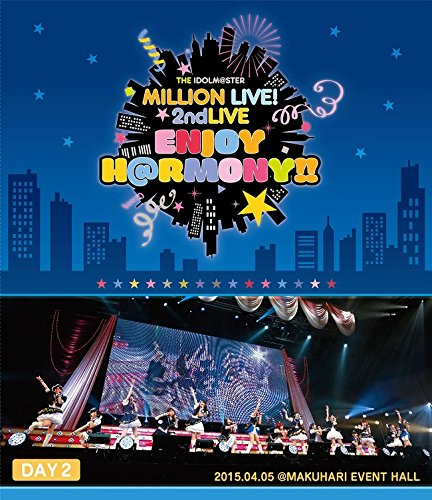 V.A. - The Idolm@Ster (Idolmaster) Million Live! 2Nd Live Enjoy H@Rmony!! Live Blu-Ray Day2 (2BDS) [Japan BD] LABX-8120
