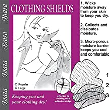 Braza Disposable Dress Shields Style S/3010 - Regular (5 pair-pack)