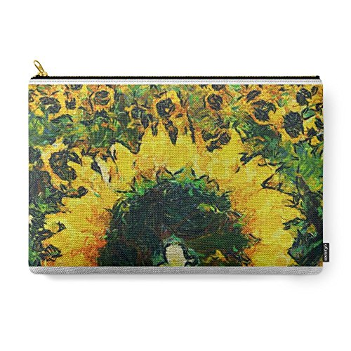 Society6 Van Gogh Styled Sunflowers Version 2 Carry-All Pouch Large (12.5
