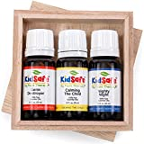 Plant Therapy Top 3 KidSafe Set. 100% Pure, Undiluted, Therapeutic Grade. Calming the Child, Germ Destroyer, and Nighty Night. 10 ml (1/3 oz) each.