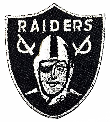 Raiders 2.56'' x 2.95'' inches patch Jacket T- shirt Patch Sew Iron on Embroidered Badge Sign Costum -