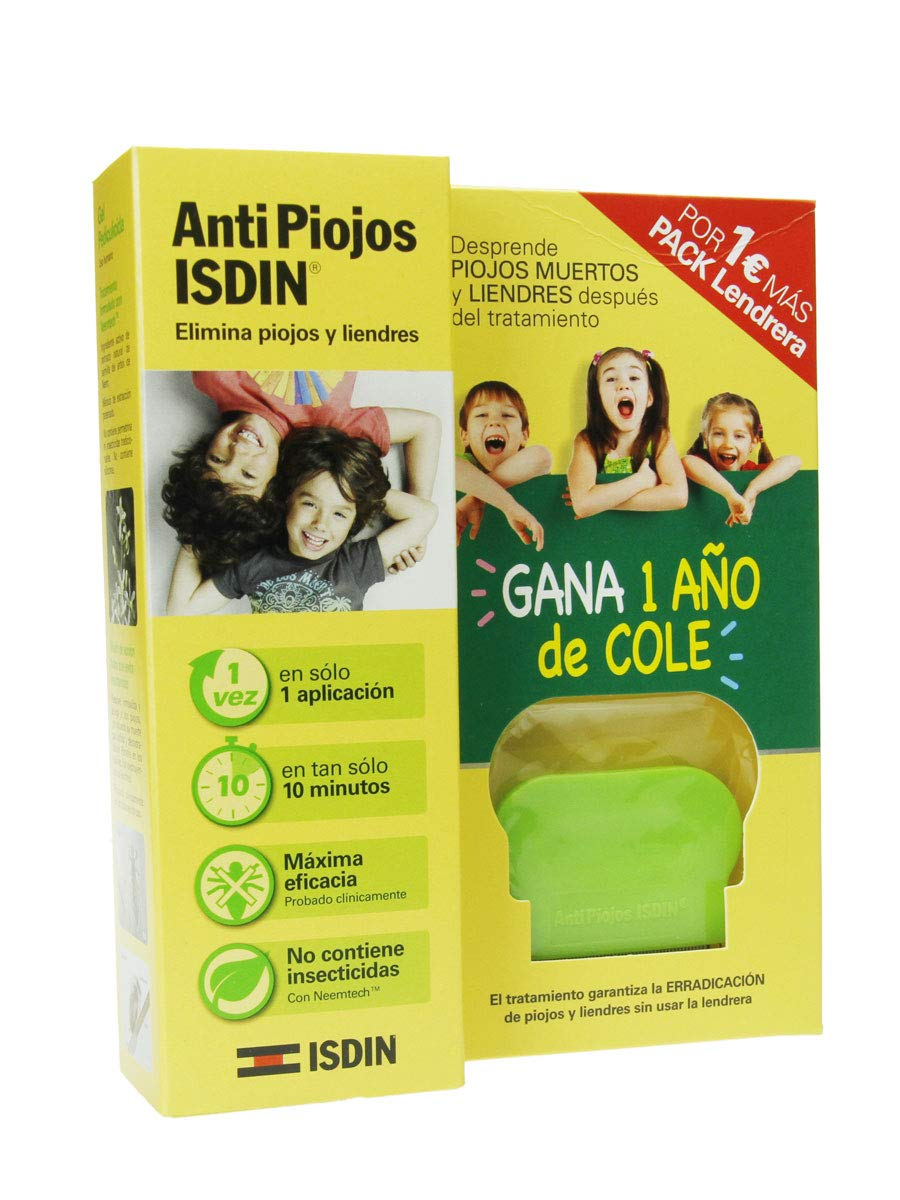 ISDIN Anti Piojos Set De Gel Pediculicida Y Peine: Amazon.es