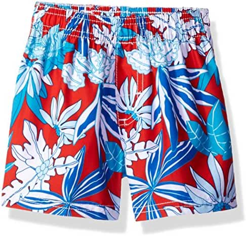 Kanu Surf Baby Boys' Aruba Floral Swim Trunk