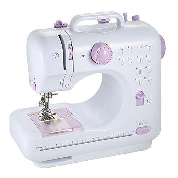 Farway LED Electronic máquina de coser 12 puntos máquina multifunción de electrodomésticos micro brazo libre artesanal