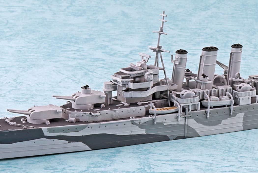 Aoshima Waterline 56707 Royal Navy Heavy Cruiser HMS Norfolk 1//700 Scale kit