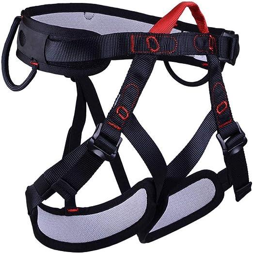 Ccsluo Arnés de Escalada, Cinturones de Seguridad para el Cuerpo ...