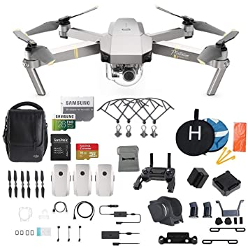 DJI Mavic Pro Platinum Fly More Combo Cuadricóptero Plegable Drone ...