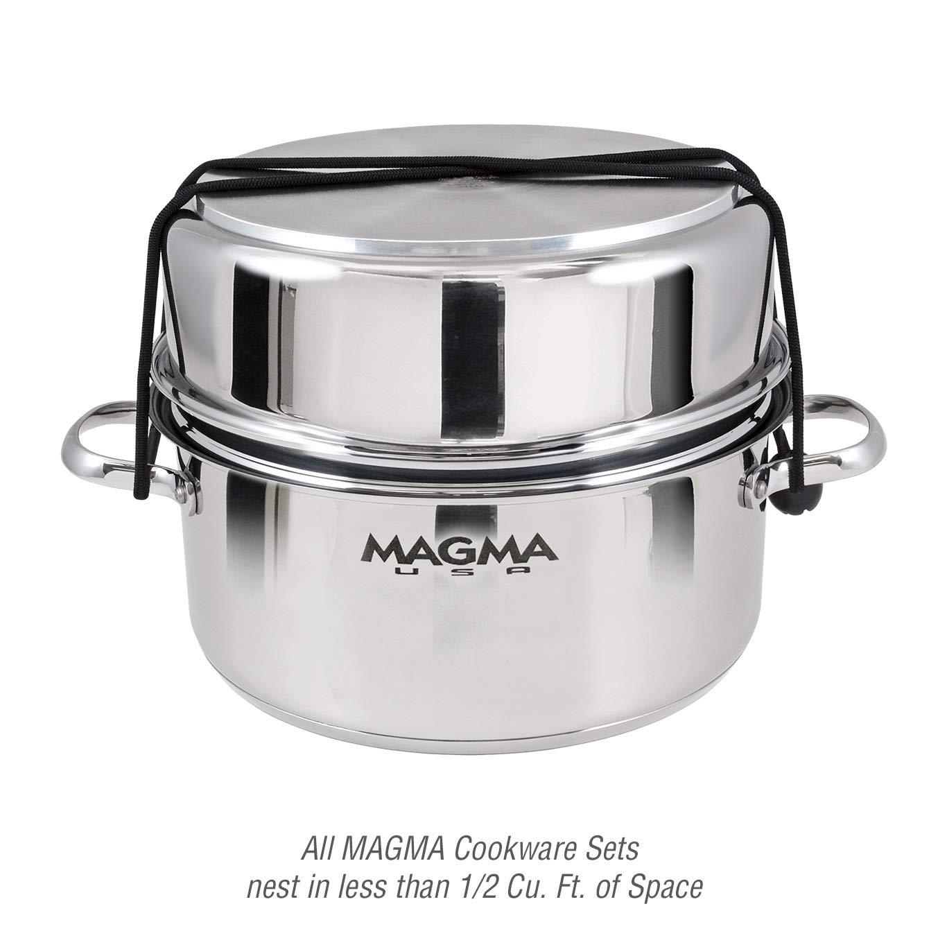 Amazon.com: Magma Productos Nesting Gourmet Inducción Saute ...