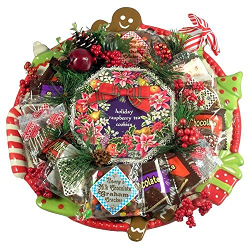 What's Christmas without Cookies - Holiday Gift Basket and Platter by Gifts to Impress