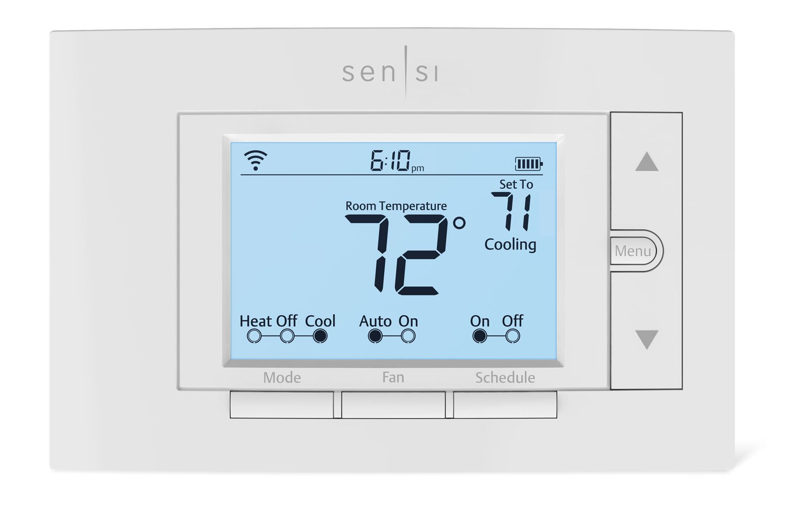 Emerson Sensi Wi-Fi Thermostat for Smart Home, 1F87U-42WF, Pro Version by Emerson Thermostats