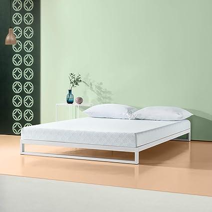 Amazoncom Zinus 6 Inch Gel Infused Green Tea Memory Foam Mattress