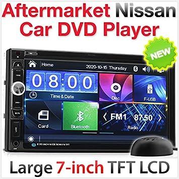Tunez 7quot Car DVD Player USB MP3 Stereo Radio For Nissan Juke Qashqai Navara X
