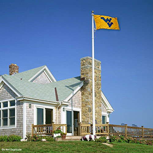 WVU West Virginia Mountaineers University Large College Flag