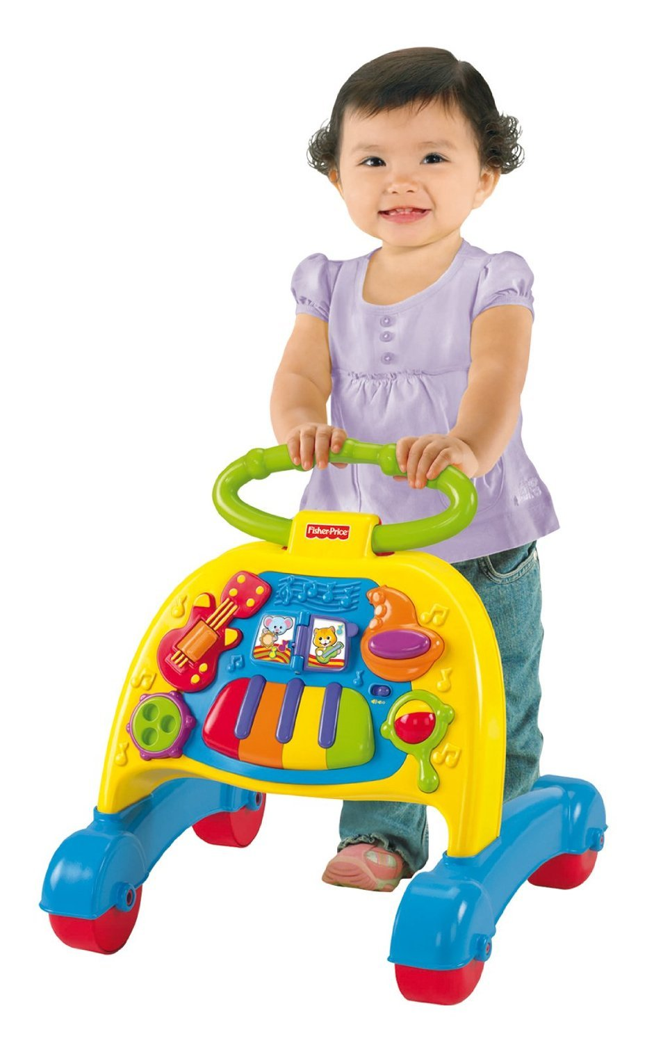 Fisher-Price - Andador Activity Musical (mayores de 6 meses) (Mattel)