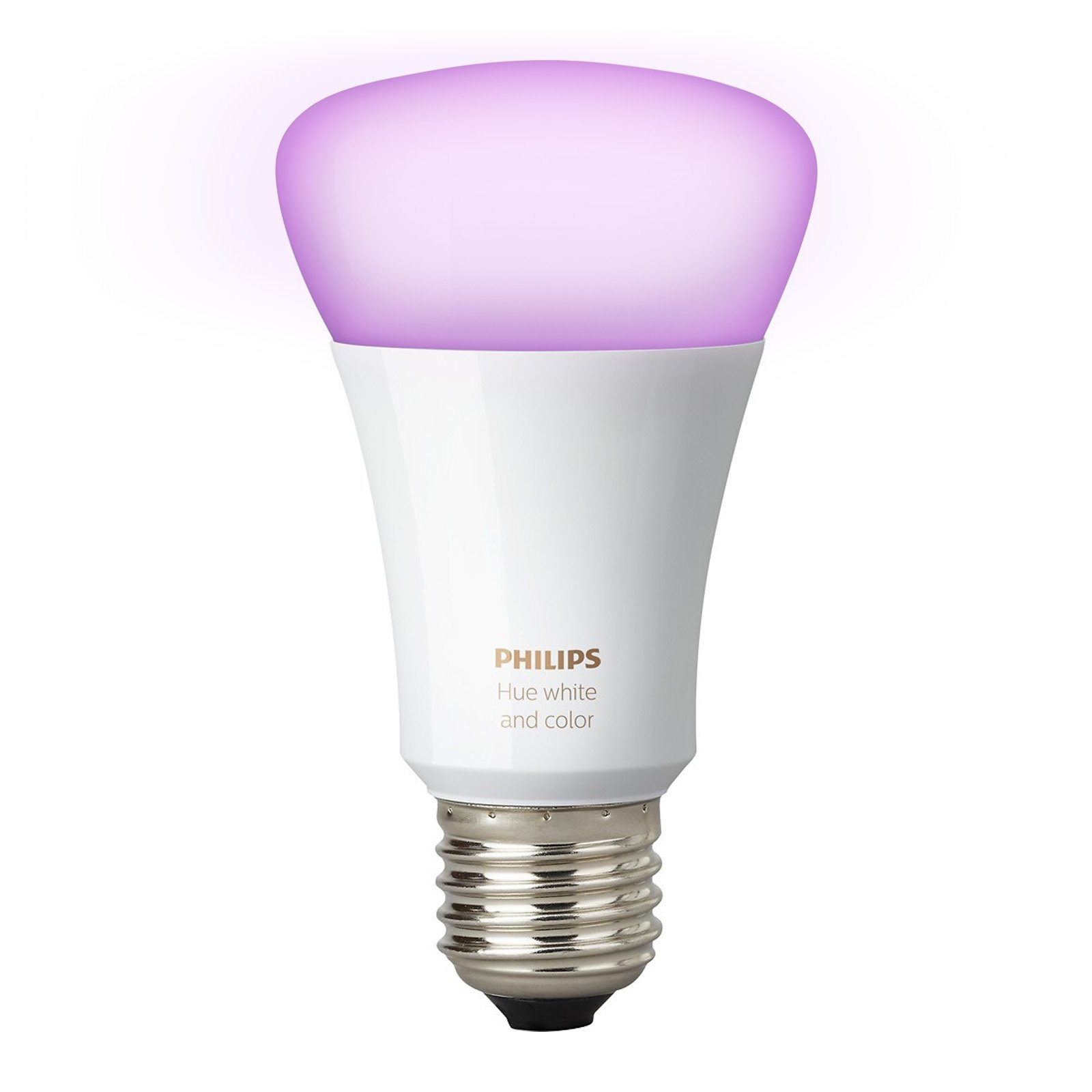 Philips Hue White and Color Ambiance 3rd Generation A19 10W Equivalent Dimmable LED Smart Bulb (Renewed) by Philips (Image #2)
