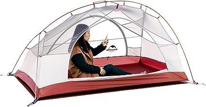 Naturehike Star-River Tienda de campaña 20d Silicona Tela Ultraligero 2 Persona