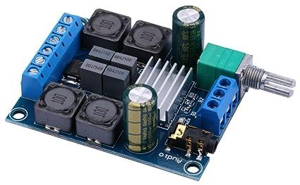 Amazon com: Amplifier Board, Yeeco 50W+50W Audio Power Amplifier