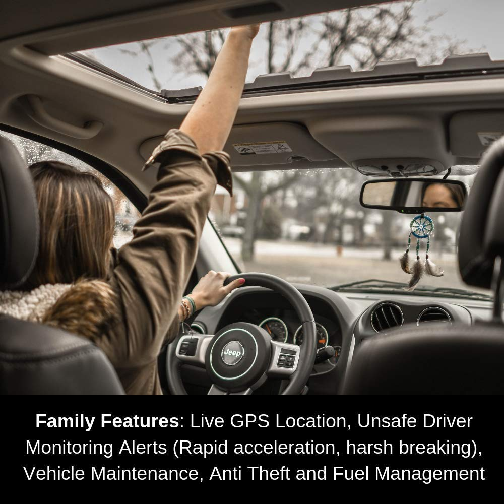Track On Smartphone 24//7 Plug Into Vehicle OBD Port for Instant Alerts /& Engine Diagnostics MT/_OBD/_12Basic GPS Tracker W//No Monthly Fee Spouse MasTrack Free 1 Year Data Plan -Tracking Your Teens