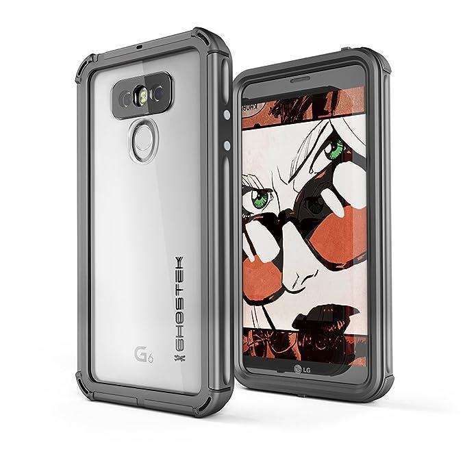 meet 45afb 546cf LG G6 Waterproof Case, Ghostek Atomic 3 Series for LG G6 Underwater Slim  Cover Shockproof Shock Absorption Dustproof Aluminum Rubber Extreme Tough  ...