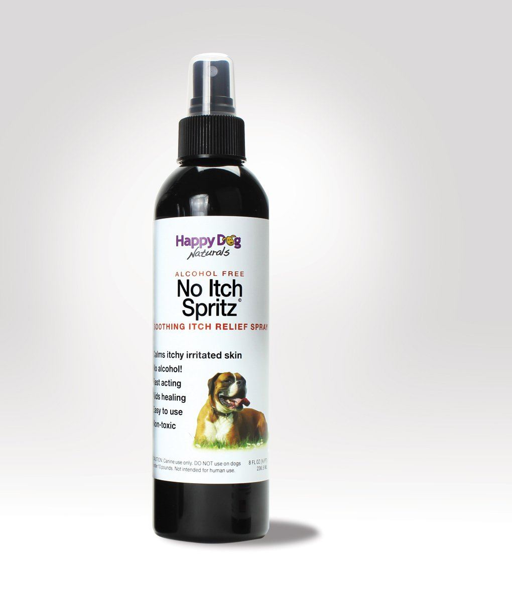 No Itch Spritz - All Natural Itch Relief for Dogs - Alcohol Free