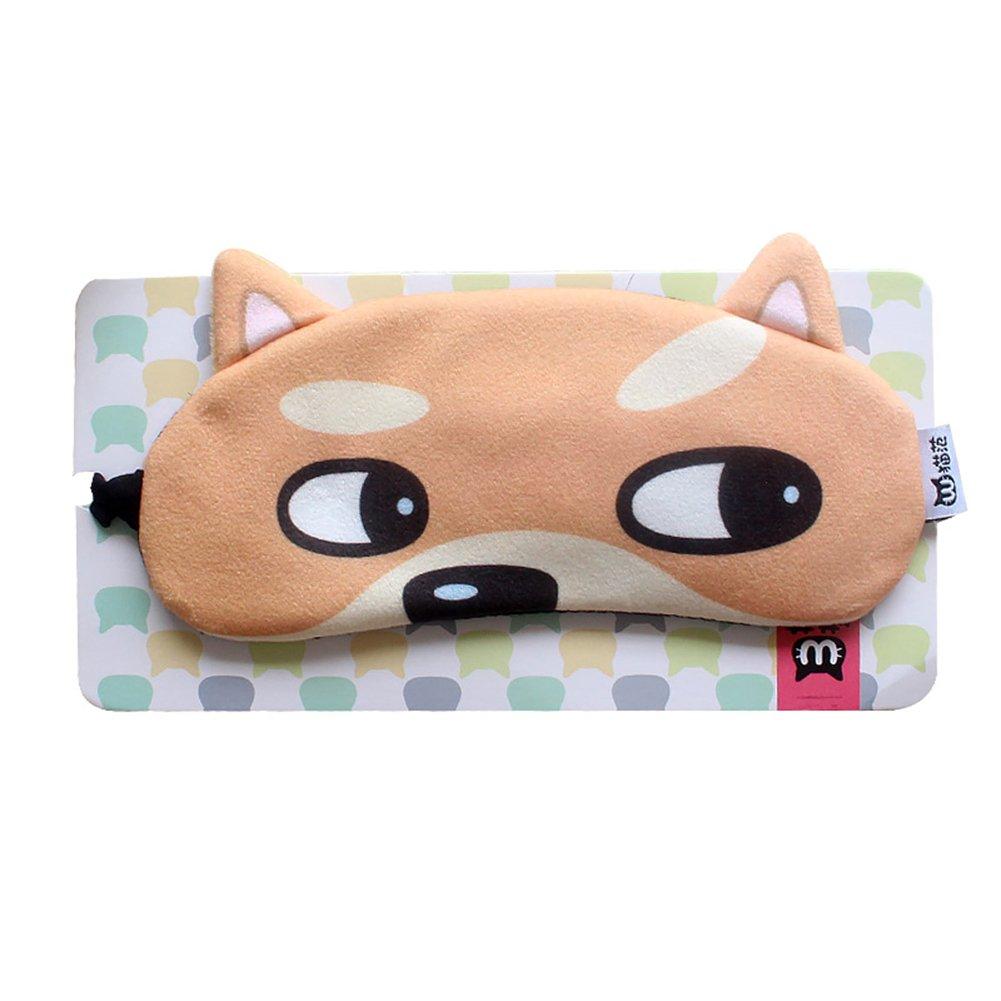Gracefulvara Travel Sleep Rest Eye Shade Sleeping Mask Cover Gift (4#)