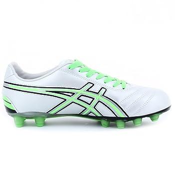 new product a1eb0 b12f3 ASICS Scarpe calcio uomo tecnosoccer WARRIOR CS bianco verde ...