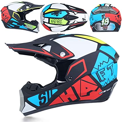 Amazon.com: BEOTARU Motocross Off Road Helmet Motorbike ...