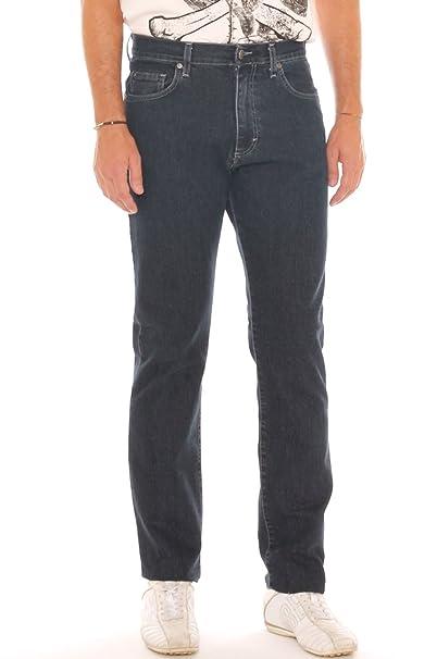 9256383789 Holiday Jeans Uomo Vita Alta in Denim Cotone Super Stretch: Amazon ...