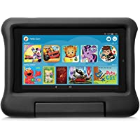 Kid-Proof Case for Fire 7 Tablet (Compatible with 9th Generation Tablet, 2019 Release), Black