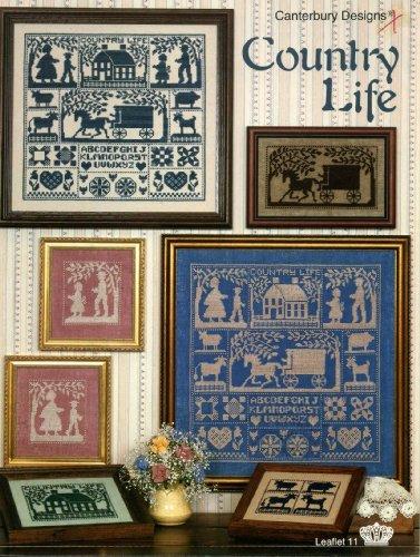 Amish Cross Stitch - Country Life - Cross Stitch (Canterbury Designs, Leaflet 11)