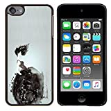 Stuss Case / Hard Protective Case Cover - Wheelchair Deep Dark Meaning - Apple iPod Touch 6 6th Touch6