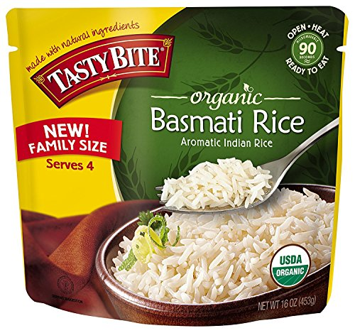 Tasty Bite Organic Basmati Rice, 16 Ounce (Pack of 24) by Tasty Bite