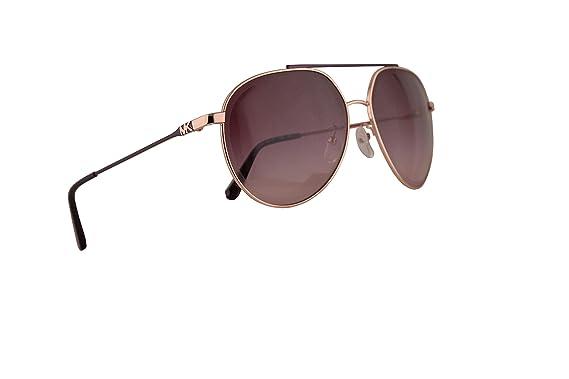 Amazon.com: Michael Kors MK1041 - Gafas de sol de oro rosa ...