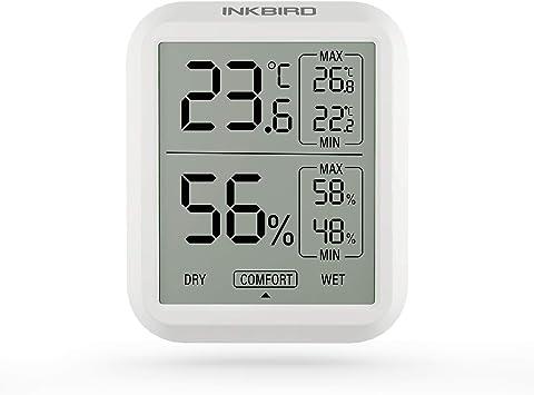 Hygrothermograph Luftfeuchtigkeit Gewächshaus Messung Zuhause Raum Thermometer