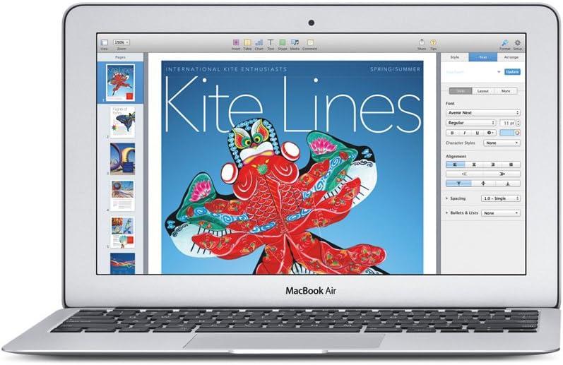 Apple MacBook Air 13 - Ordenador portátil de 11.6