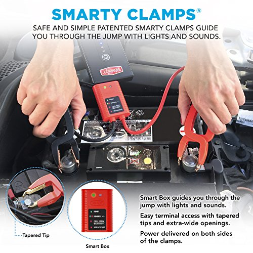 WEEGO 22s Jump Starter 1700 Peak 300 Cranking Amps Compact High Performance Lithium Ion USA Designed and Engineered by Weego (Image #2)'