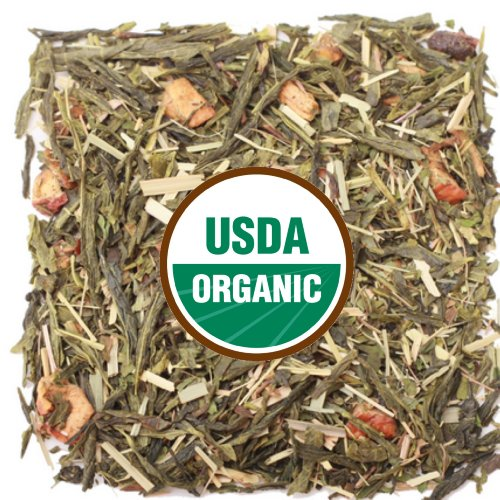 BUY ONE GET ONE FREE Flash Sale Luxury Tea .. ! Organic Kiwi Mint Green - Pallet Cleansing, Fruity and Refreshing Organic Green Tea 2 O Package