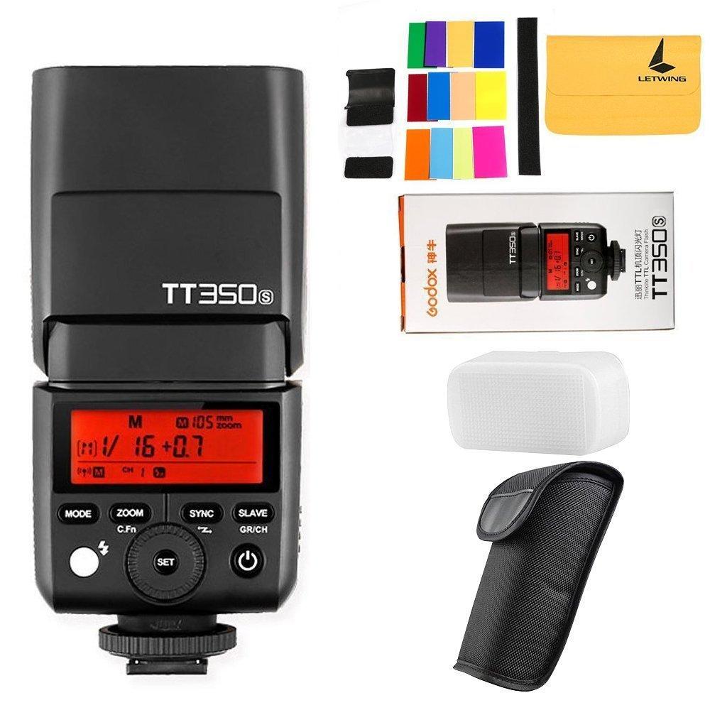 Godox TT350S 2.4G HSS 1/8000s TTL GN36 Camera Speedlite for Sony Mirrorless digital camera