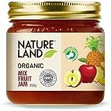 Natureland Organics Mix Fruit Jam 250 Gm